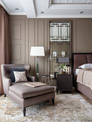 Master bedroom designer Albina Alieva