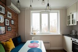 white kitchen design by Albina Alieva