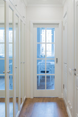 corridor design built-in watdrobe by Albina Alieva