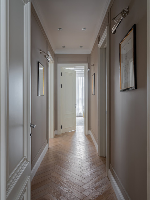 Corridor designer Albina Alieva