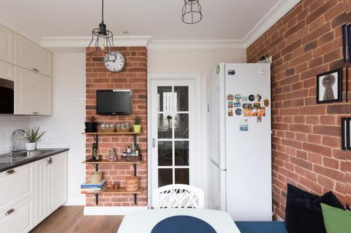 cozy kitchen design by Albina Alieva