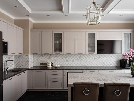 Kitchen designer Albina Alieva
