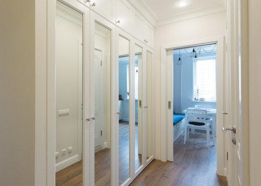 small corridor design by Albina Alieva