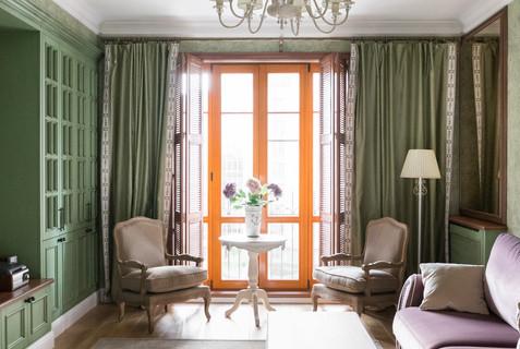 mediterranean living room by Albina Alieva
