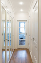Corridor design by Albina Alieva