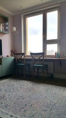 window sill - table by Albina Alieva