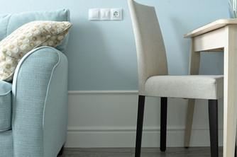 Living room design by Albina Alieva