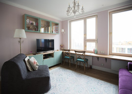 tiny apartment studio by Albina Alieva