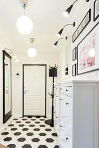 entrance hall design by Albina Alieva