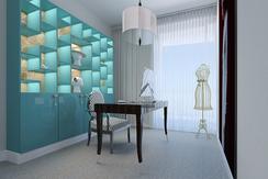 home office in a duplex by Albina Alieva