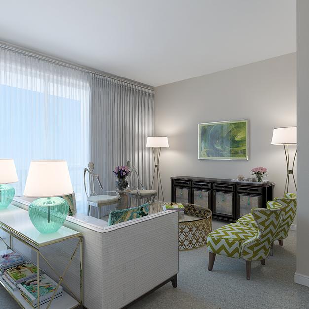 2-bedroom duplex