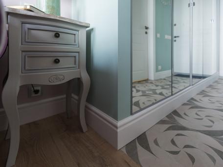 built-in PAX IKEA wardrobe by Albina Alieva