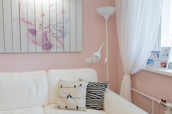 cozy nook design by Albina Alieva