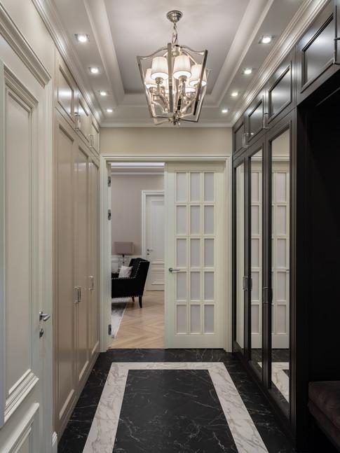 Entry hall designer Albina Alieva