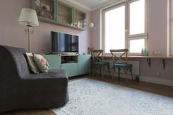 studio apartment by Albina Alieva