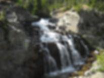 Big Timber Creek Mountain Waterfalls