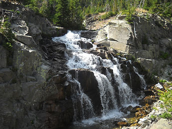 Big Timber Creek Mountain Waterfalls