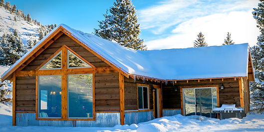 Montana Cabin Rentals North of Big Timber Montana in Crazy