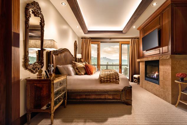 Master Bedroom in a High End Condo