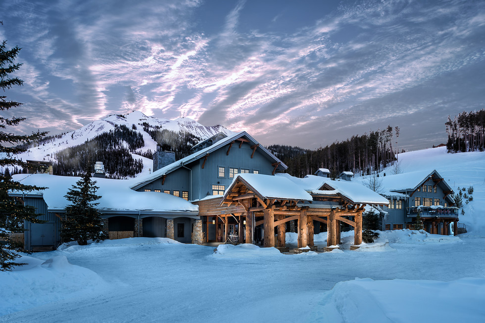 Resort and Hotel Photography at Moonlight Basin