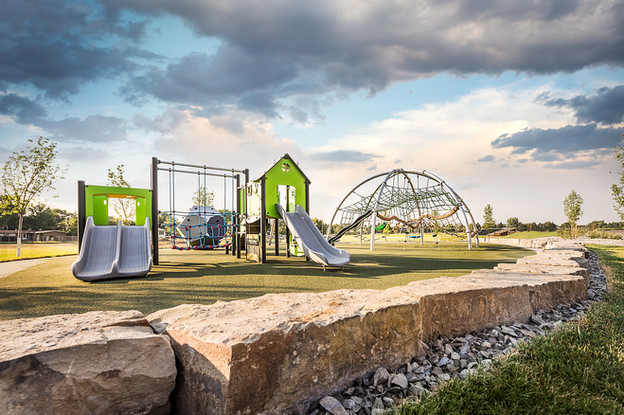 Brand New Middle School Playground