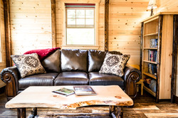 Fisher Cabin Living Room