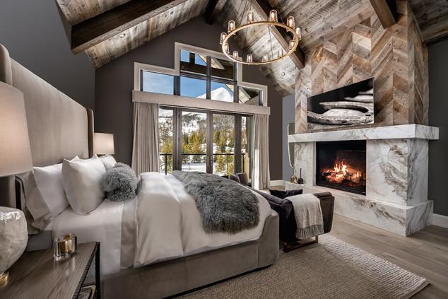 Master Bedroom in a Ski-in/Ski-out Residence