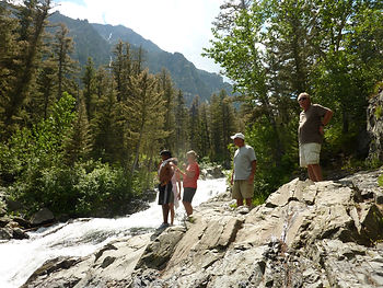 Best Hiking in Montana Big Timber Falls