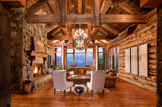 Great Room in a Custom Mansion