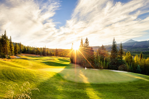 Luxury Resort Golf Course Photography