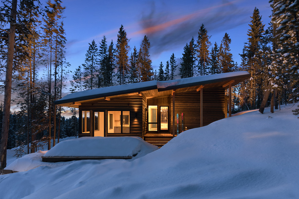 Low Resolution Lake Cabins 10 (with skis