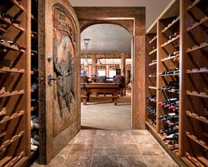 Very Custom Wine Cellar