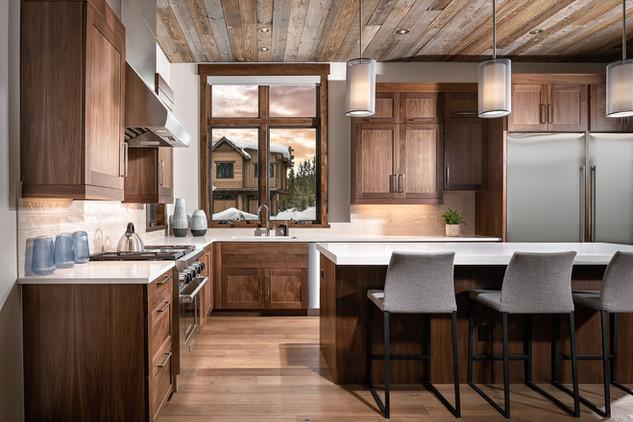 Designer Kitchen in High End Custom Home