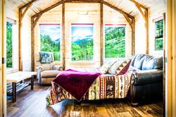 Montana Cabin Rentals Living Room