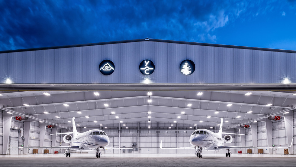 Airport Private Jet Hangars