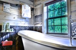 Clawfoot Tub with Mountain Views