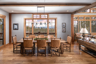 Dining Room in a Custom Residence