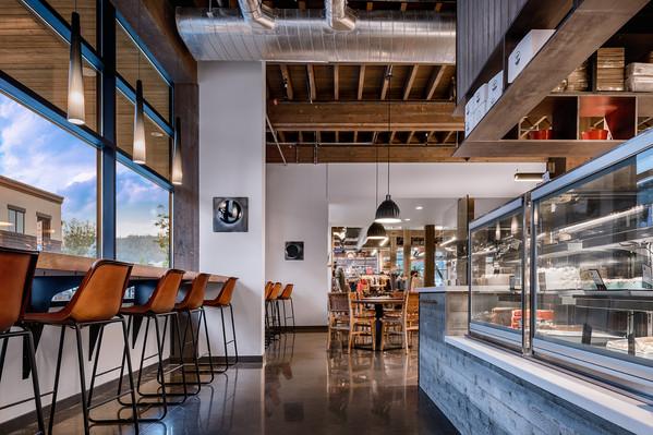 Compass Cafe in Big Sky Montana
