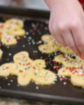 Bakning Gingerbread Män