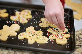 Baking Gingerbread Men