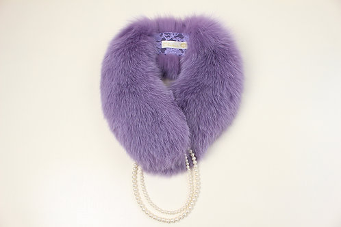 Fox Fur Scarf /Simple grande