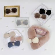 Bm5-1 Ribbon petite ¥48,000+tax ミンクスカーフ