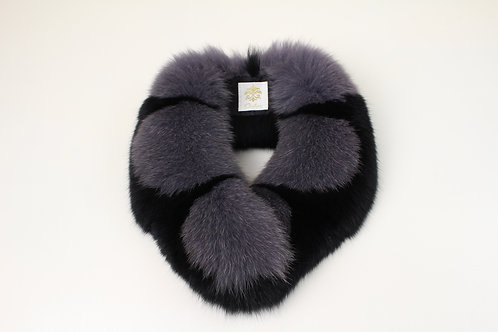 Fox Fur Scarf / Scallop