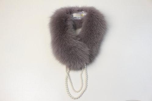 Fox Fur Scarf /Simple petit