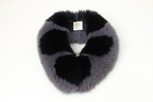 Fox Fur Scarf / Scallop