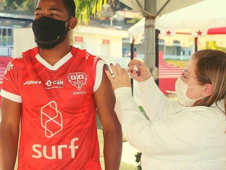 Osasco/Audax vacina elenco em ação conjunta com a prefeitura