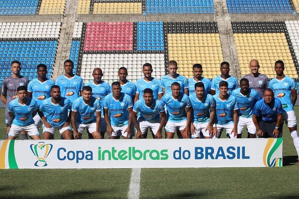 Marília na estreia da Copa do Brasil contra o Cricíuma