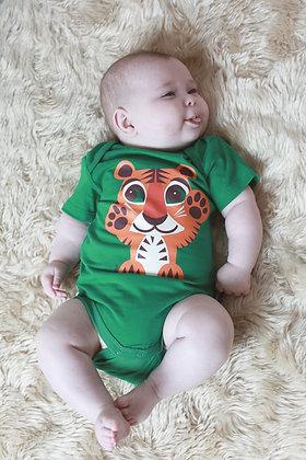 Tiger Short Sleeve Bodysuit