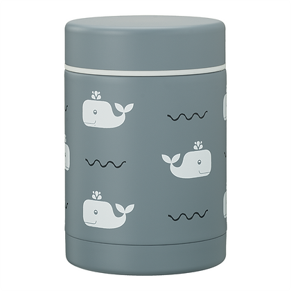 Whale Thermos Food Jar