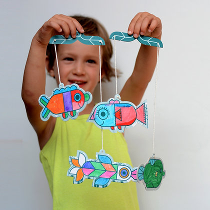 Fish Coloring Mobile